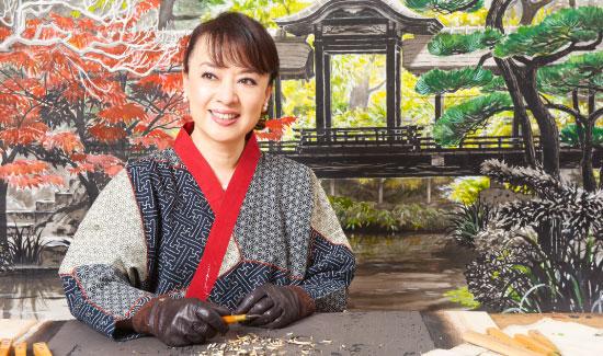 ジュディ・オング倩玉・木版画の世界